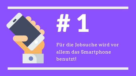 Jobsuche Smartphone