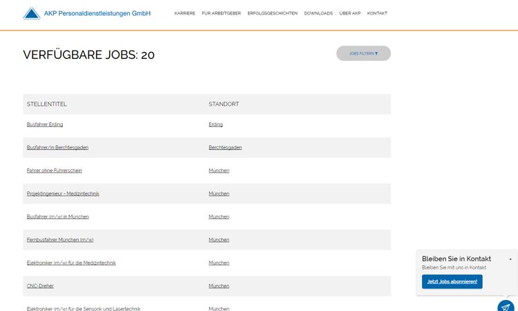 4 Beispiele für gelungene Jobportale AKP
