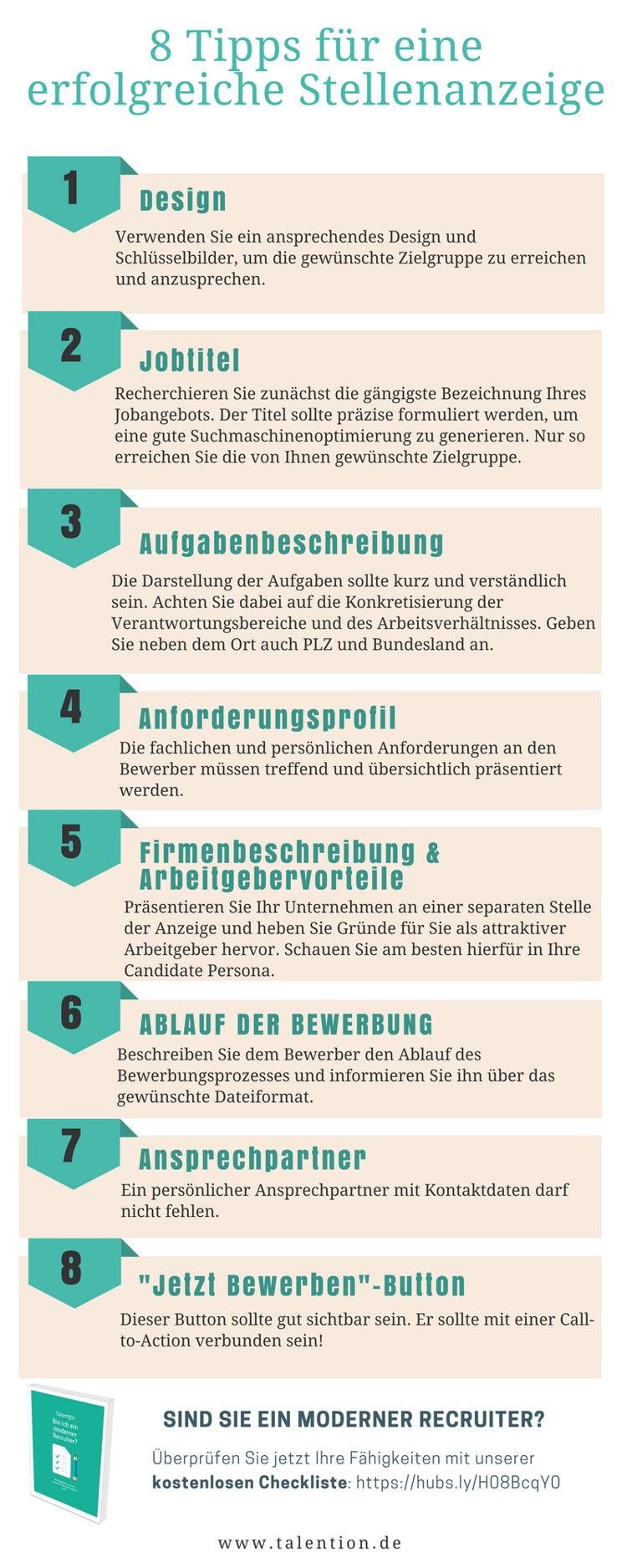 Infografik - 8 Tipps für eine erfolgreiche Stellenanzeige.png