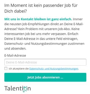 Talention Jobabo