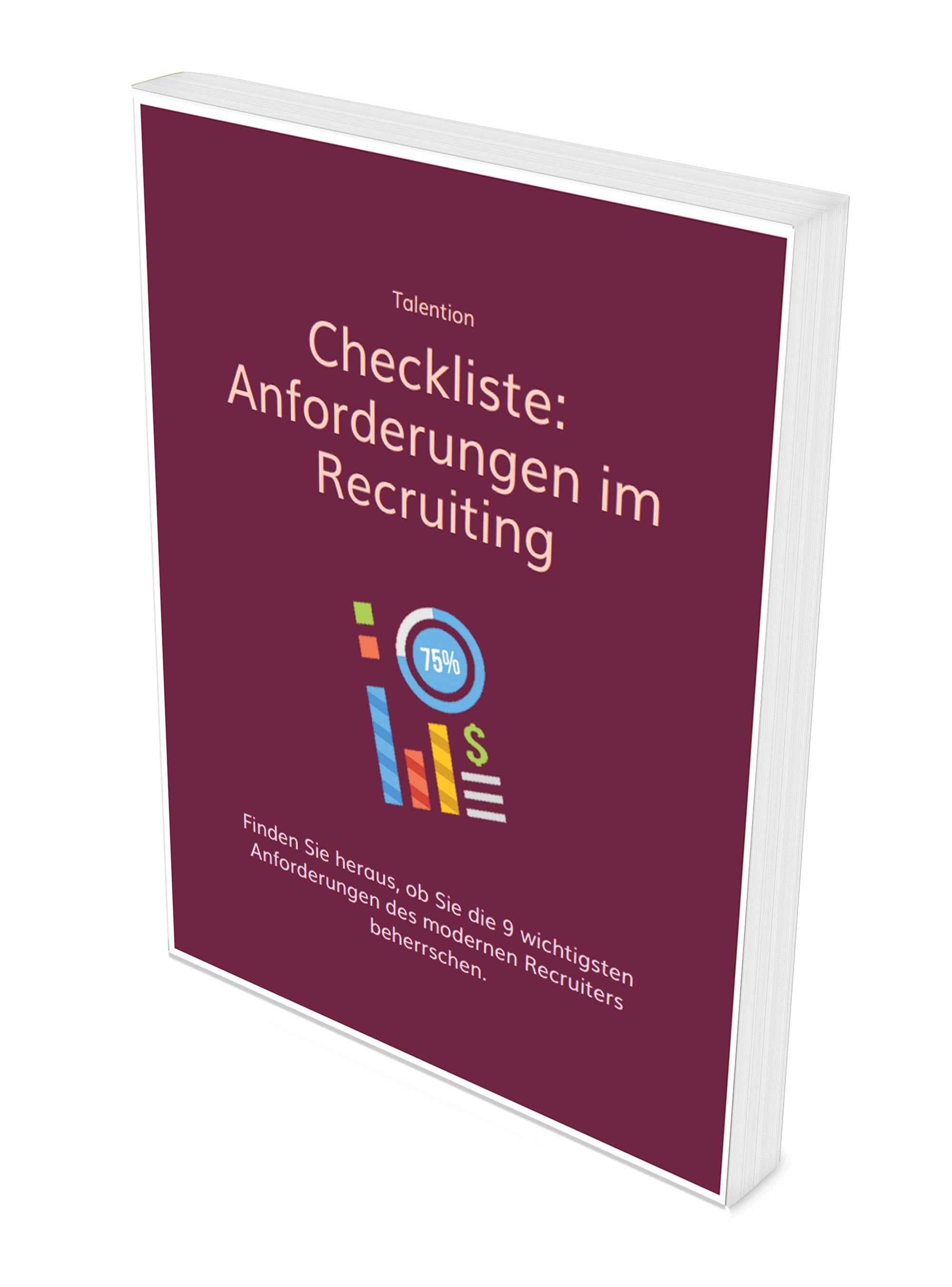 Anforderungen im Recruiting