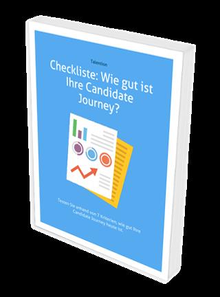 Checkliste Wie gut ist Ihre Candidate Journey? kostenlos