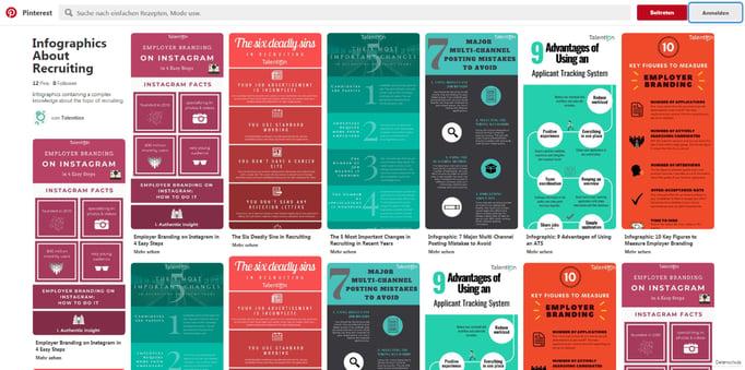 Leitfaden: So unterstützt Pinterest Ihr Content Marketing im Recruiting