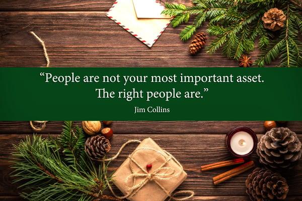 5 Weihnachtliche Recruiting Zitate, die Sie für das neue Jahr inspirieren werden