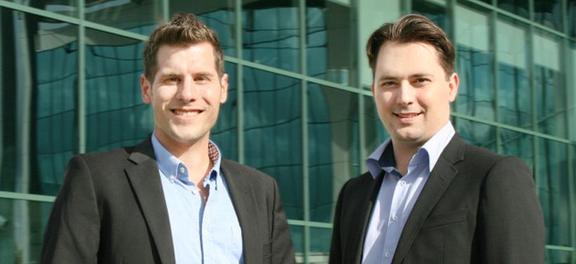 Steffen Braun und Christian Ternai