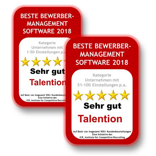 Deutschlands Beste Bewerbermanagement Software 2018 / 2019