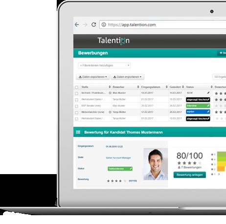 Talention Bewerbermanagement