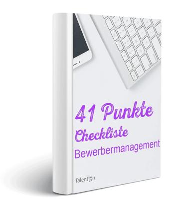 checkliste-Bewerbermanagement