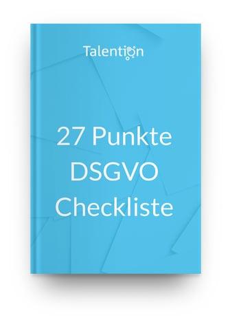 kostenlose Checkliste mit 27 Punkten