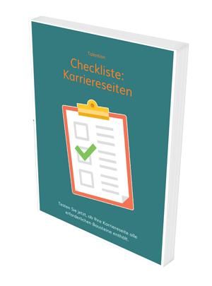 Checkliste Karriereseiten