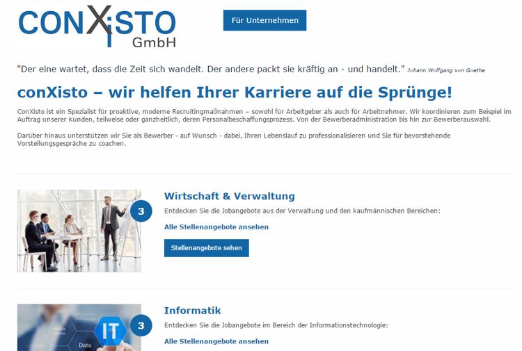 4 Beispiele für gelungene Jobportale conxisto GmbH