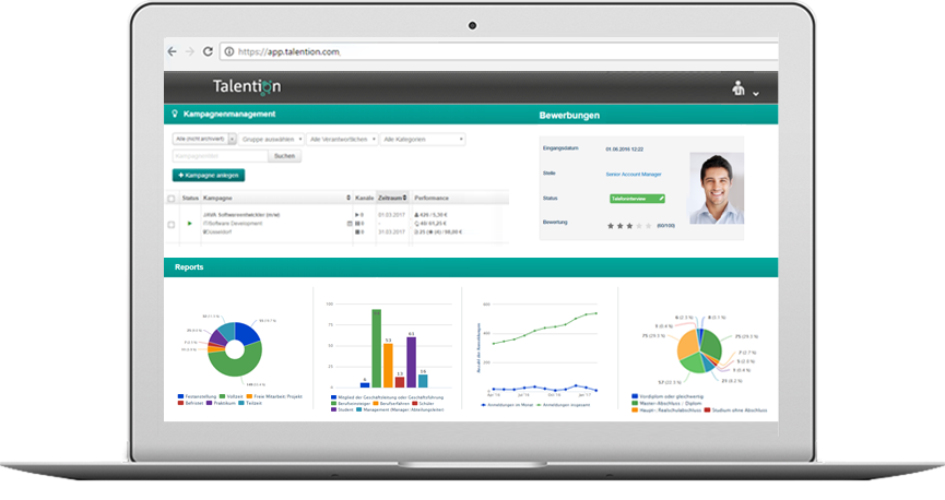 Talention All-in-One Recruiting Software