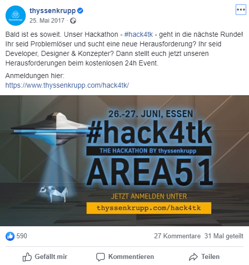 thyssenkrupp Hackathon