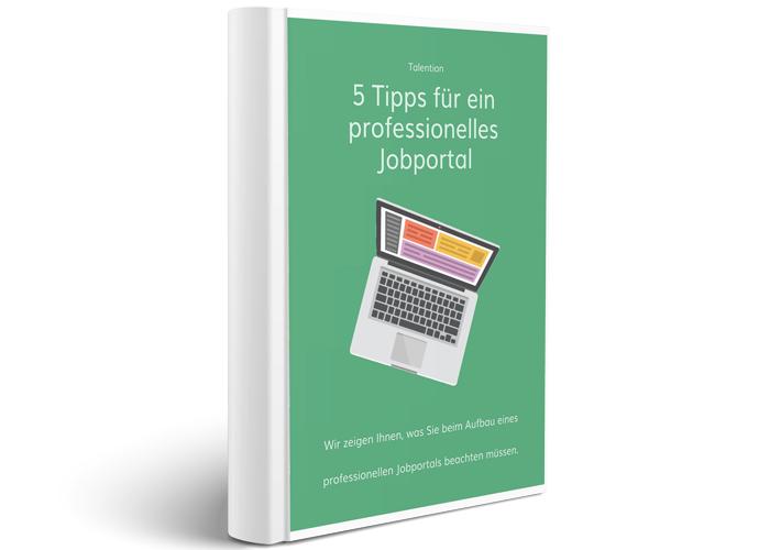 E-Book 5 Tipps für ein professionelles Jobportal