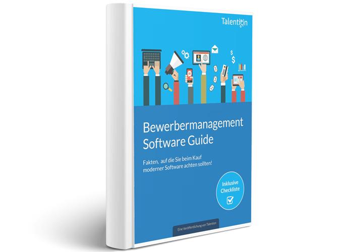 E-Book Bewerbermanagement Software Guide