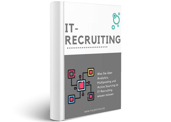 E-Book Cover IT Recruiting
