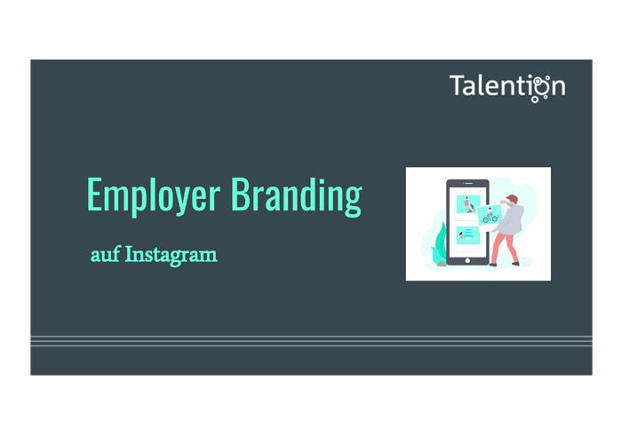 Präsentation Employer Branding auf Instagram