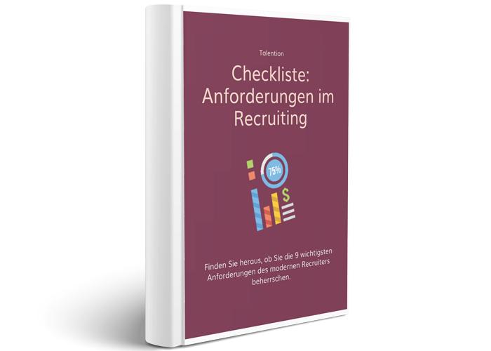 Checkliste Anforderungen Recruiting
