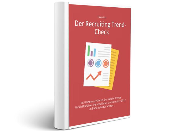 Checkliste Recruiting Trend-Check