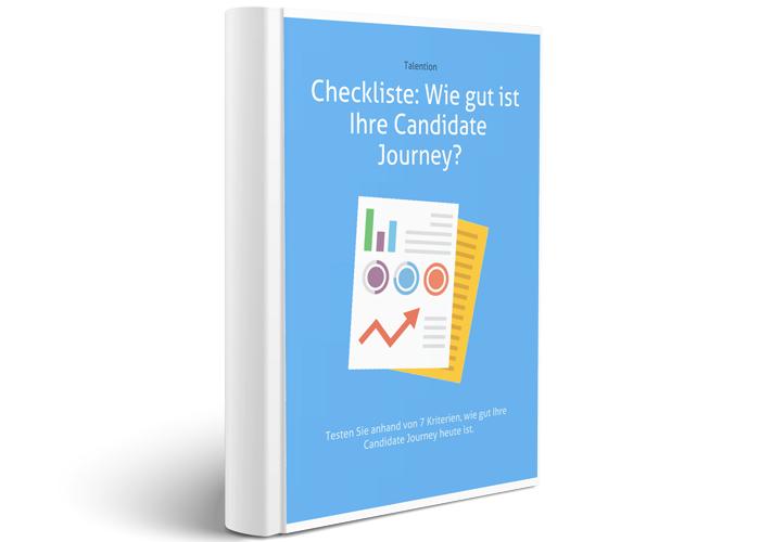 Checkliste Wie gut ist Ihre Candidate Journey