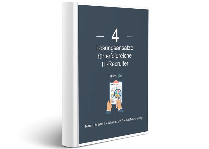 E-Book Lösungsansätze für erfolgreiche IT Recruiter
