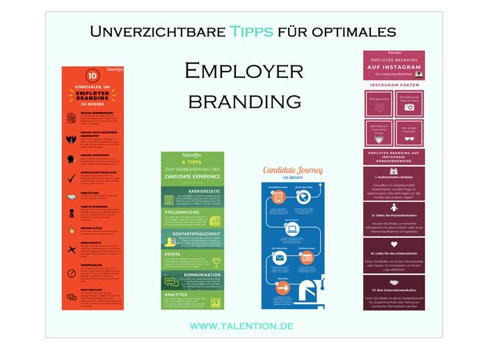 Talention Poster - Unverzichtbare Tipps für optimales Employer Branding