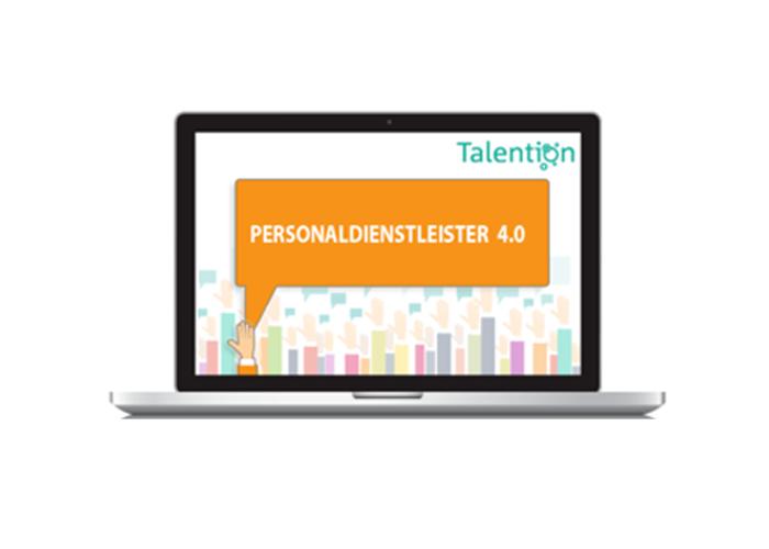Talention Webinar Personaldienstleister 4.0