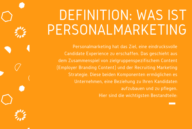 Infografik: Definition: Was ist Personalmarketing?