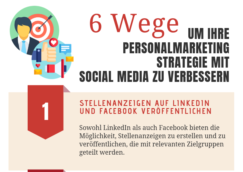 Personalmarketingstrategie mit Social Media verbessern