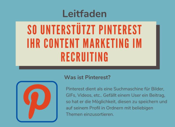Infografik: So Unterstützt Pinterest Ihr Content Marketing im Recruiting