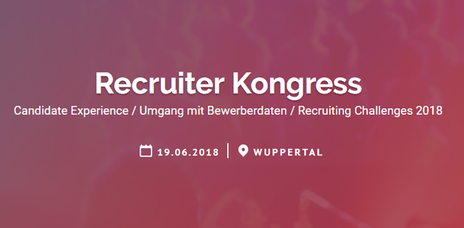 Talention Recruiter Kongress in Wuppertal