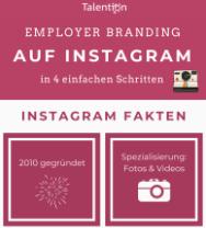Infografik: Employer Branding auf Instagram in 4 einfachen Schritten