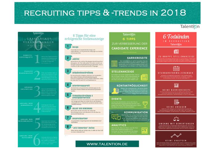 Poster Recruiting Tipps und Trends 2018