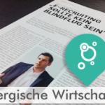 E-Recruiting sollte kein Blindflug sein! Interview mit Steffen Braun in der Bergischen Wirtschaft (02/2014)
